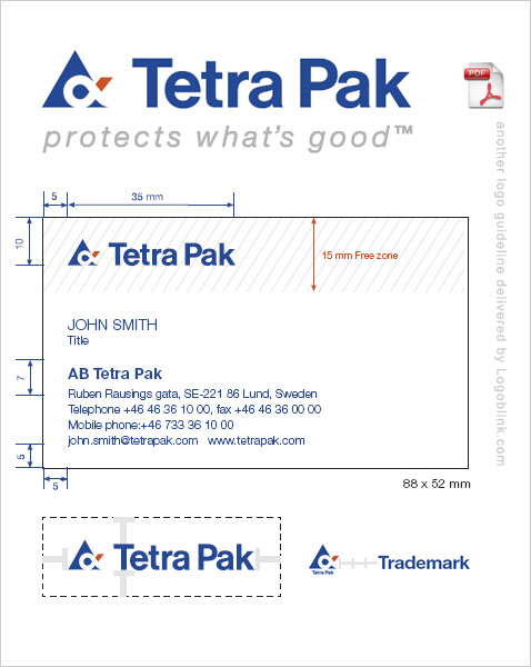 Guideline Logo Pdf Logo Guideline of Tetrapak