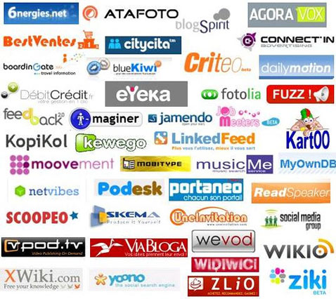 web 2.0 logo sites