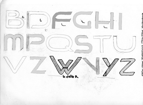 making a font logo design