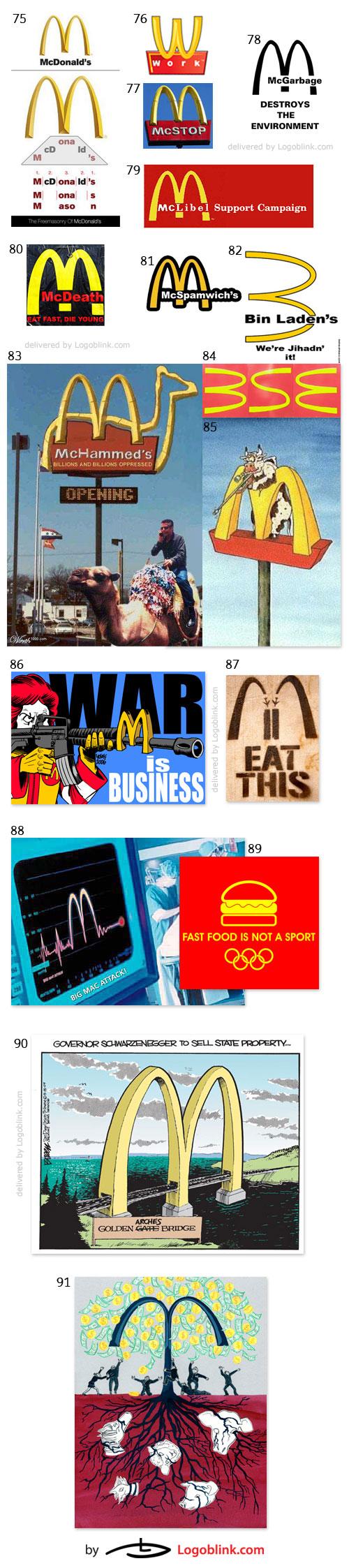 fast food chain logo mania