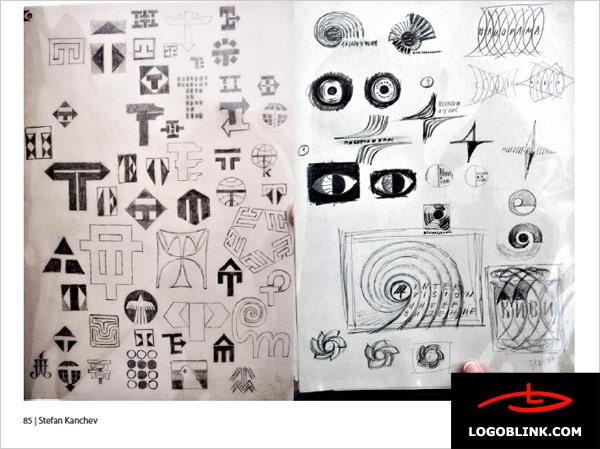 bulgarian vintage logo designs