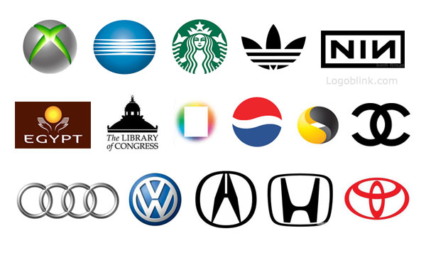 you pay attention to details you will notice that some of these logos ...