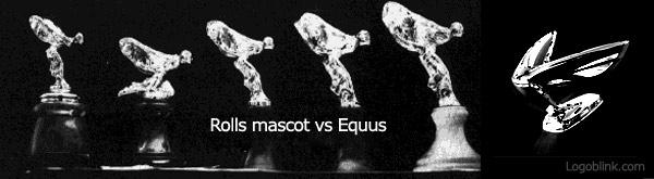 rolls roys vs equus 3d logo designs