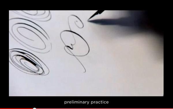 The Calligrapher Frank Ortmann