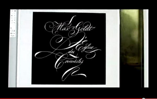 The calligrapher frank ortmann logoblink