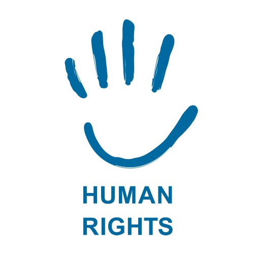 human rights logo. in the Human Rights Logo