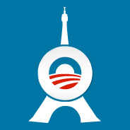 paris version Obama campaign logo