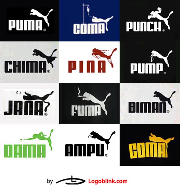 sports brand parody logos