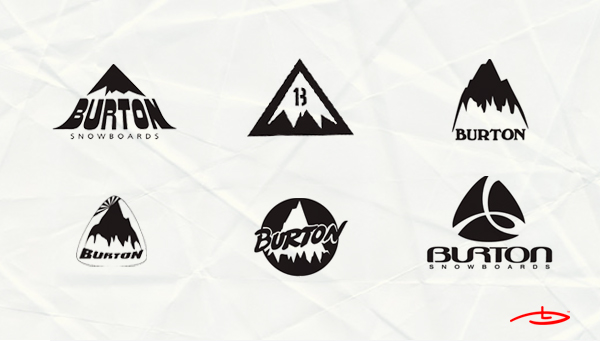 old snowboards logo designs