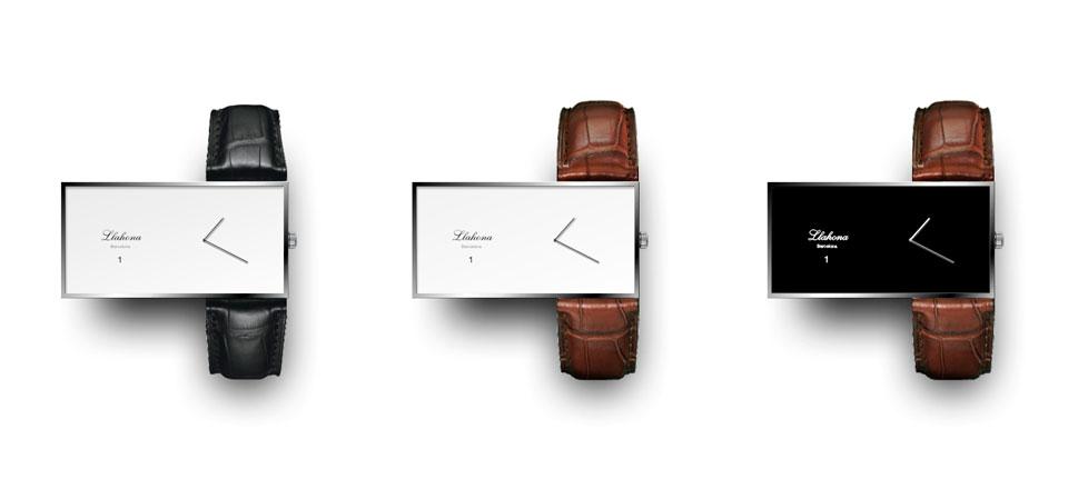 A fancy watch logo