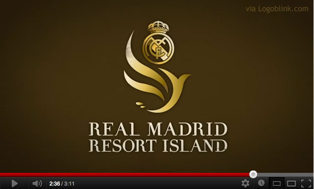 real madrid island logo design