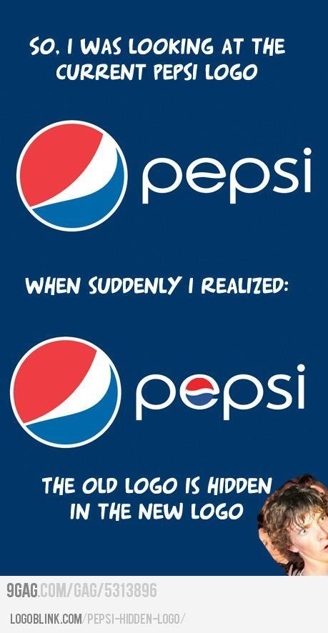 pepsi company hidden logo design