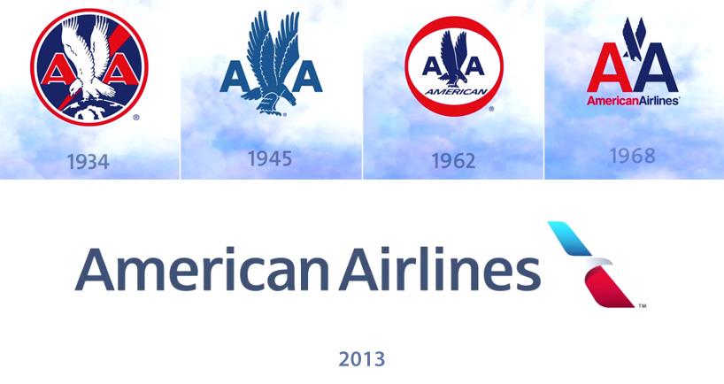 american airlines logo rebranding