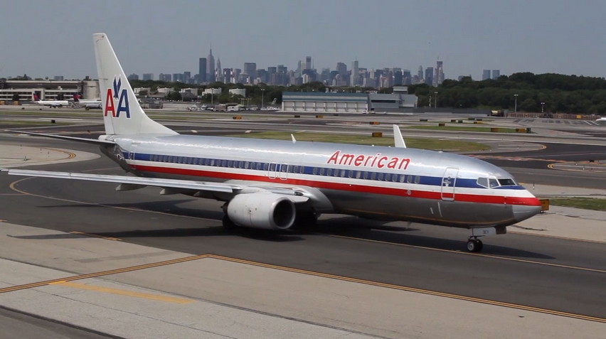 american airlines old branding