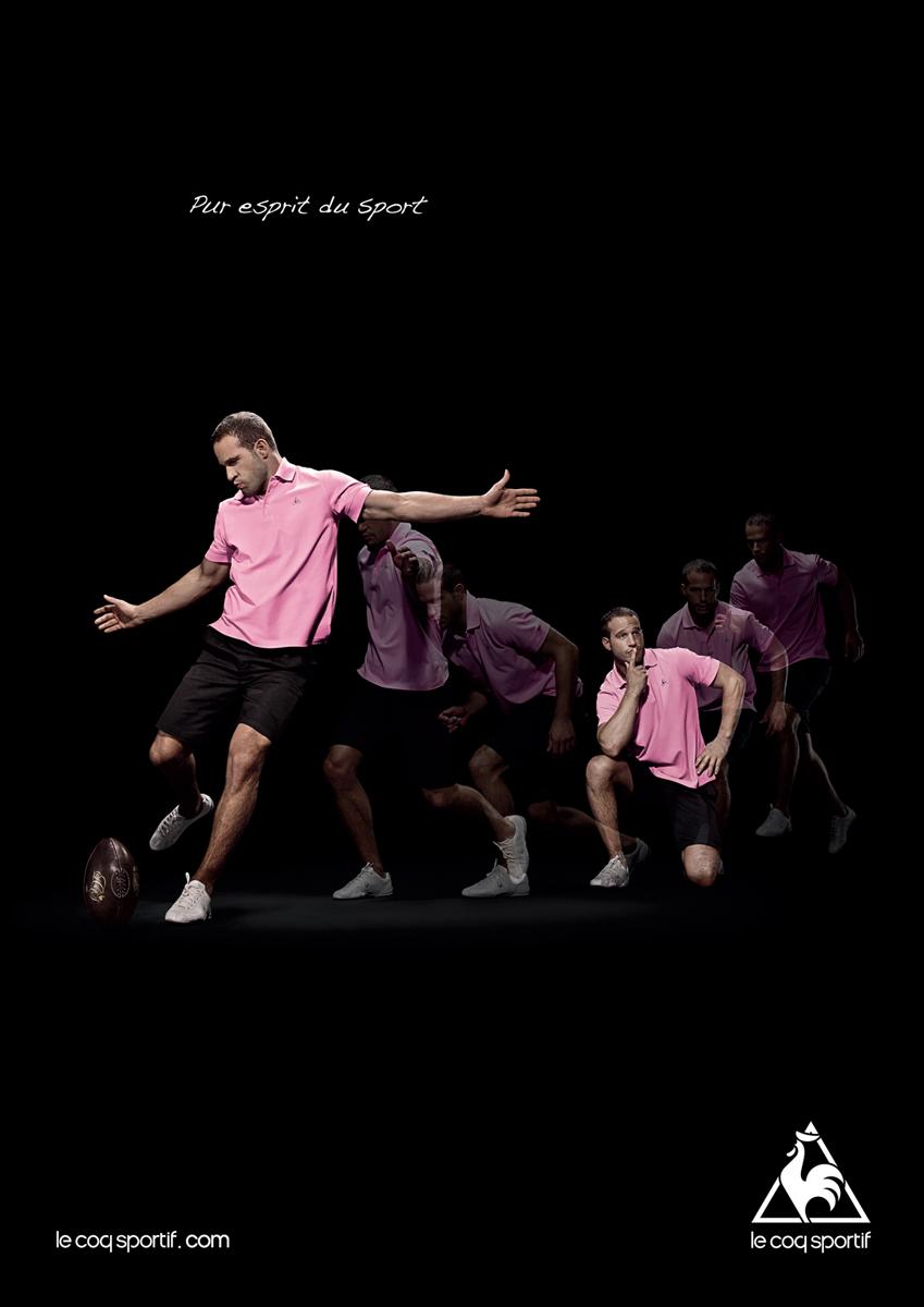 le coq sportif poster design
