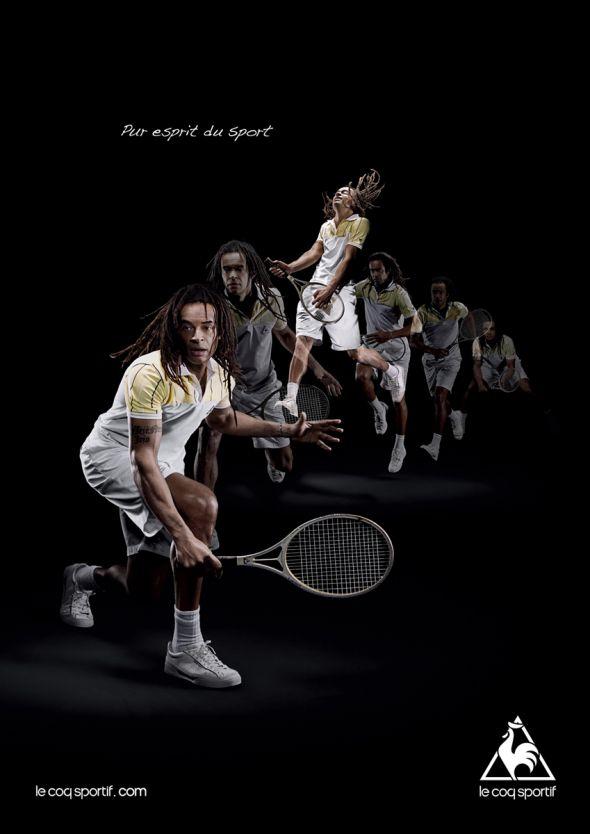 le coq sportif new poster design
