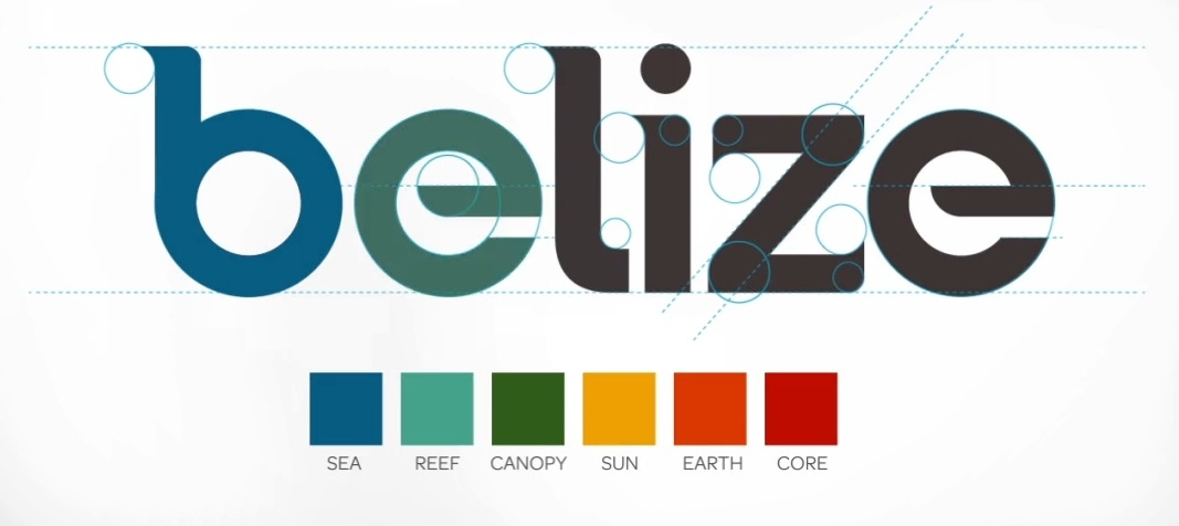 The new Belize tourism logo   Logoblink com