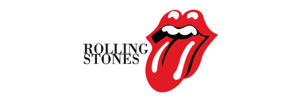 Famous rock logos