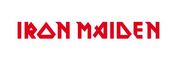 Famous rock music logos