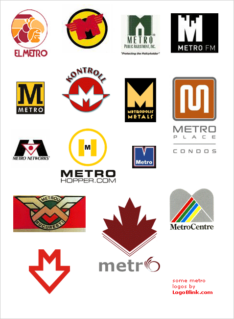 world design metro logos