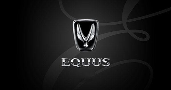 Equus Logo Design Hyundai Premium Brand Logoblink Com