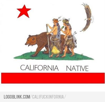 california indian flag