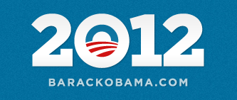 elections Obama 2012 campaign logo design