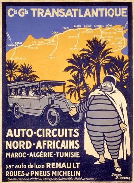 tire company vintage posters