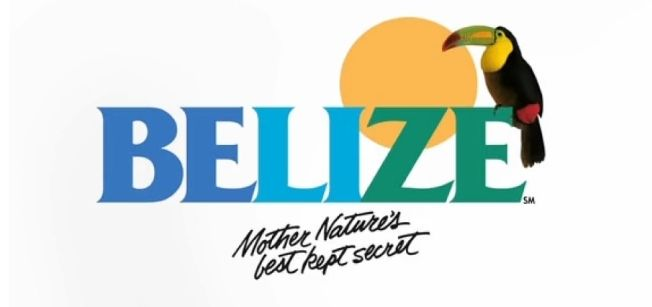 old Belize tourism logo design