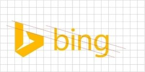 Redisigned logo of Bing